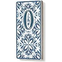 The Mia Kapı Numarası Mavi Beyaz 0