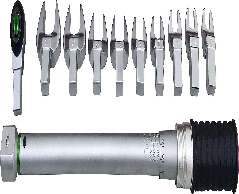 200 mm JBM 52913 Llave dinamom/étrica con Cabezal Intercambiable