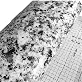 BESTERY Self Adhesive Terrazzo Marble Contact Paper Gloss Vinyl Wrap Film Kitchen Countertop Peel Stick Wallpaper Decal