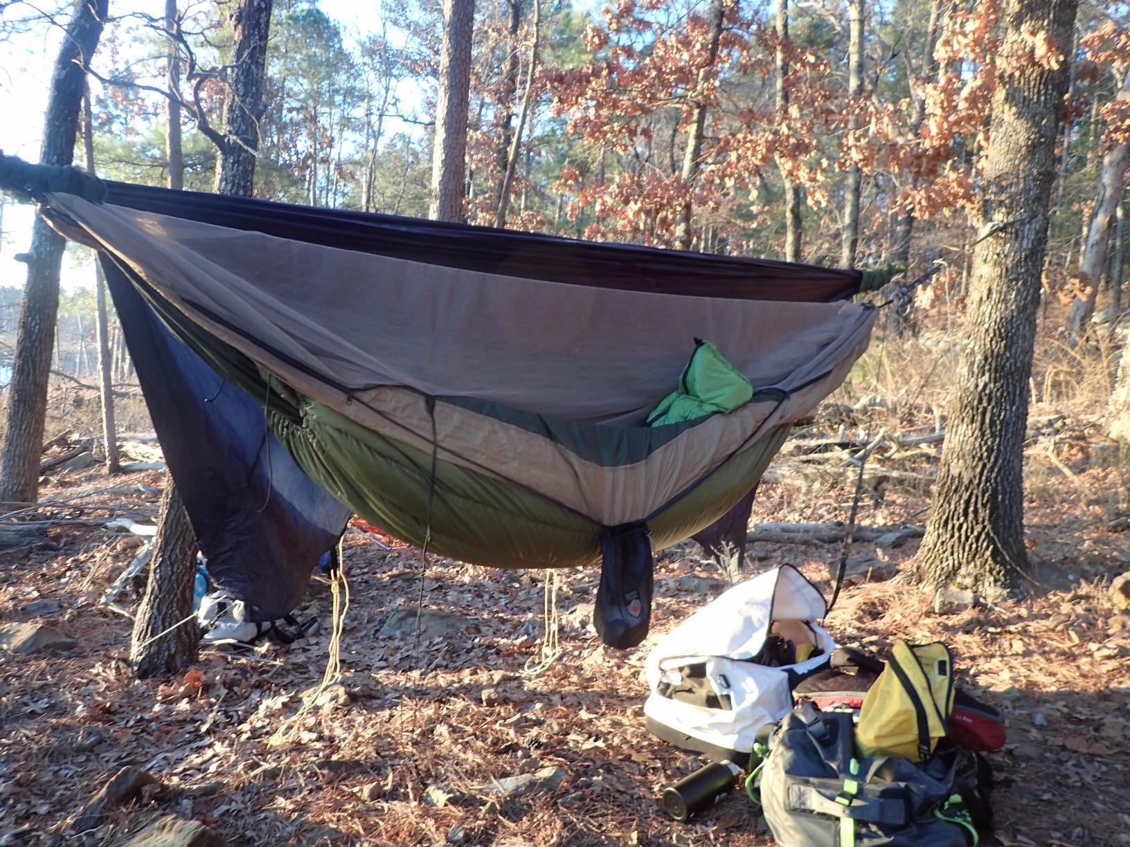 Outdoor Vitals Aerie 20°F Down Underquilt/Sleeping Bag, Use As Ultralight-great for the price