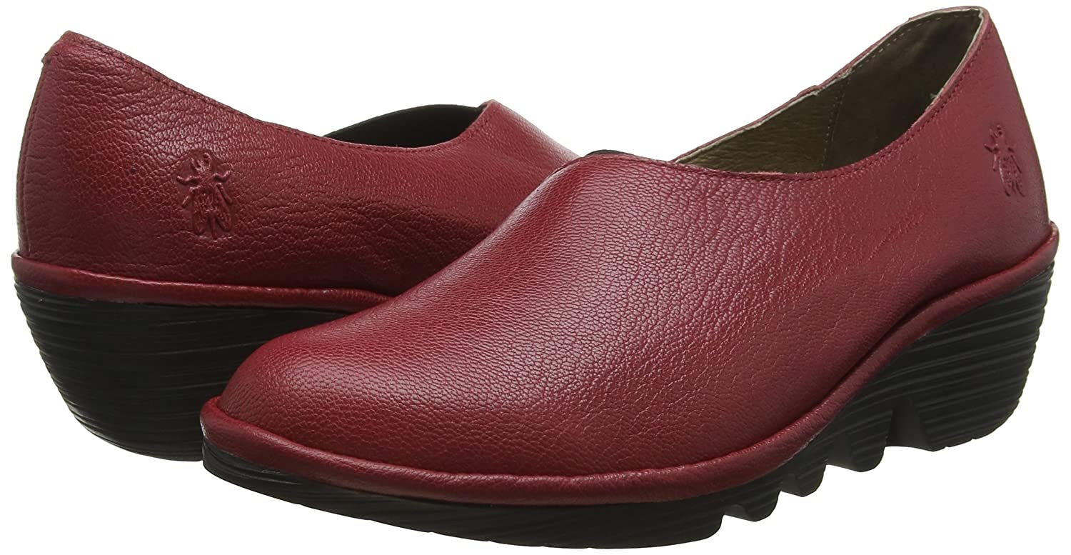 FLY 001) London Damen Peso894fly Pumps Rot (Rio ROT 001) FLY bdb615