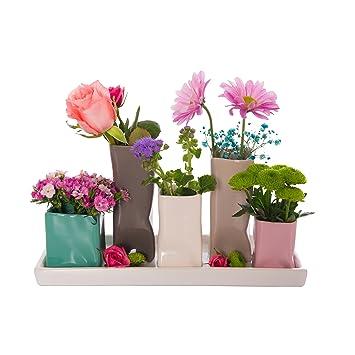 Vase Mit Blumen keramikvasenset blumenvase keramikvasen bunt weiß vase blumen