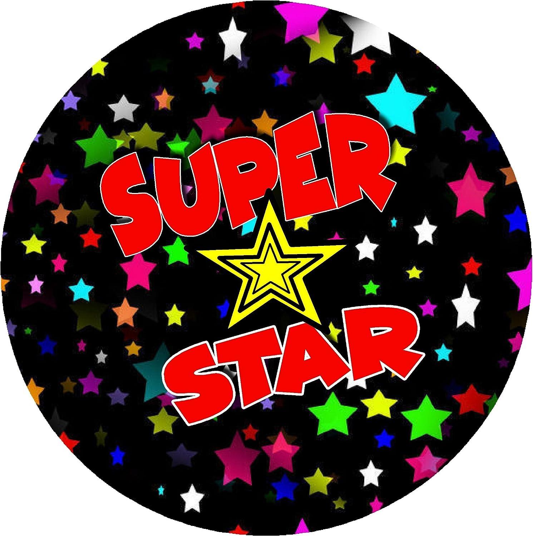 Praise Words 168 Superhero Comic Teacher Reward Stickers 30mm 7 Designs