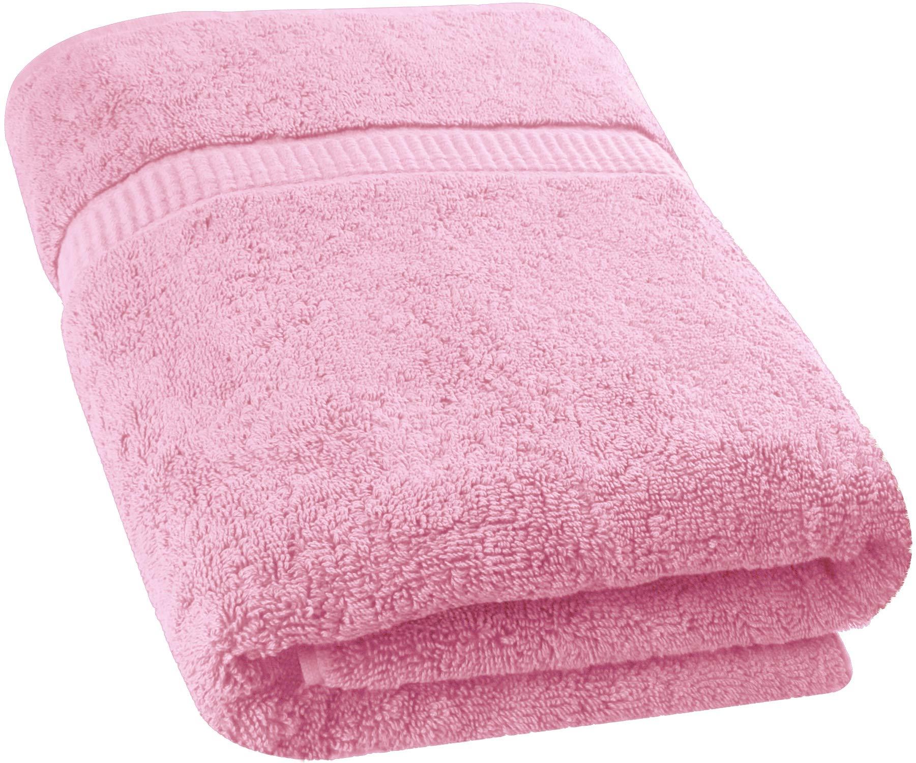 Utopia Towels - Toalla de baño Extra Grande y Suave Lavable en la Lavadora (89 x 178 cm) (Rosa)