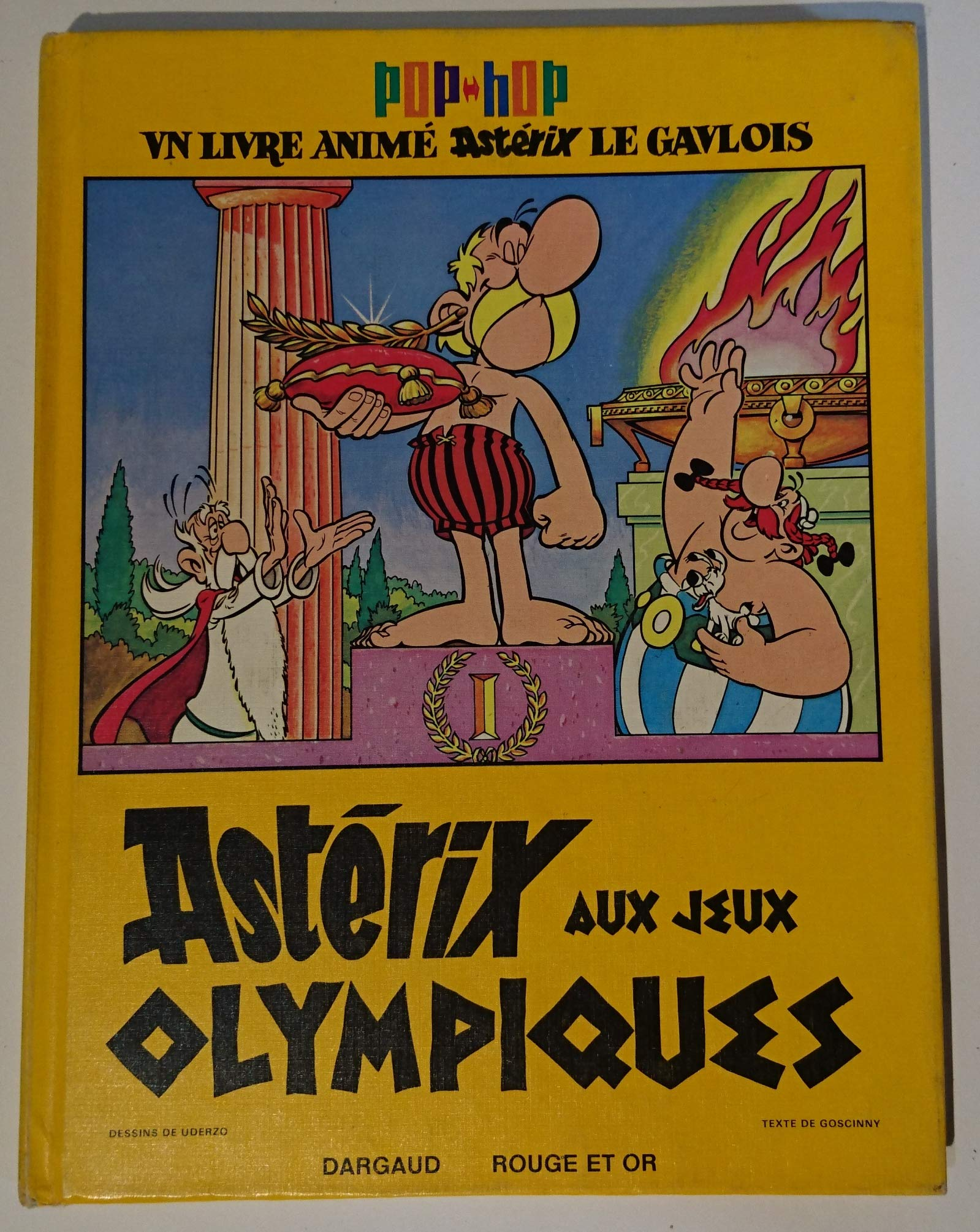 Asterix Aux Jeux Olympiques Pop Hop Livre Anime Amazon
