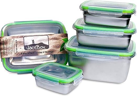 Amazon.com: JaceBox Contenedores de almacenamiento de ...