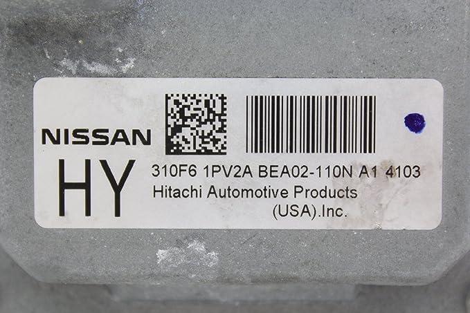 14 Nissan Maxima 310F6 1PV2A TCM TCU Transmission Computer Control Unit Module