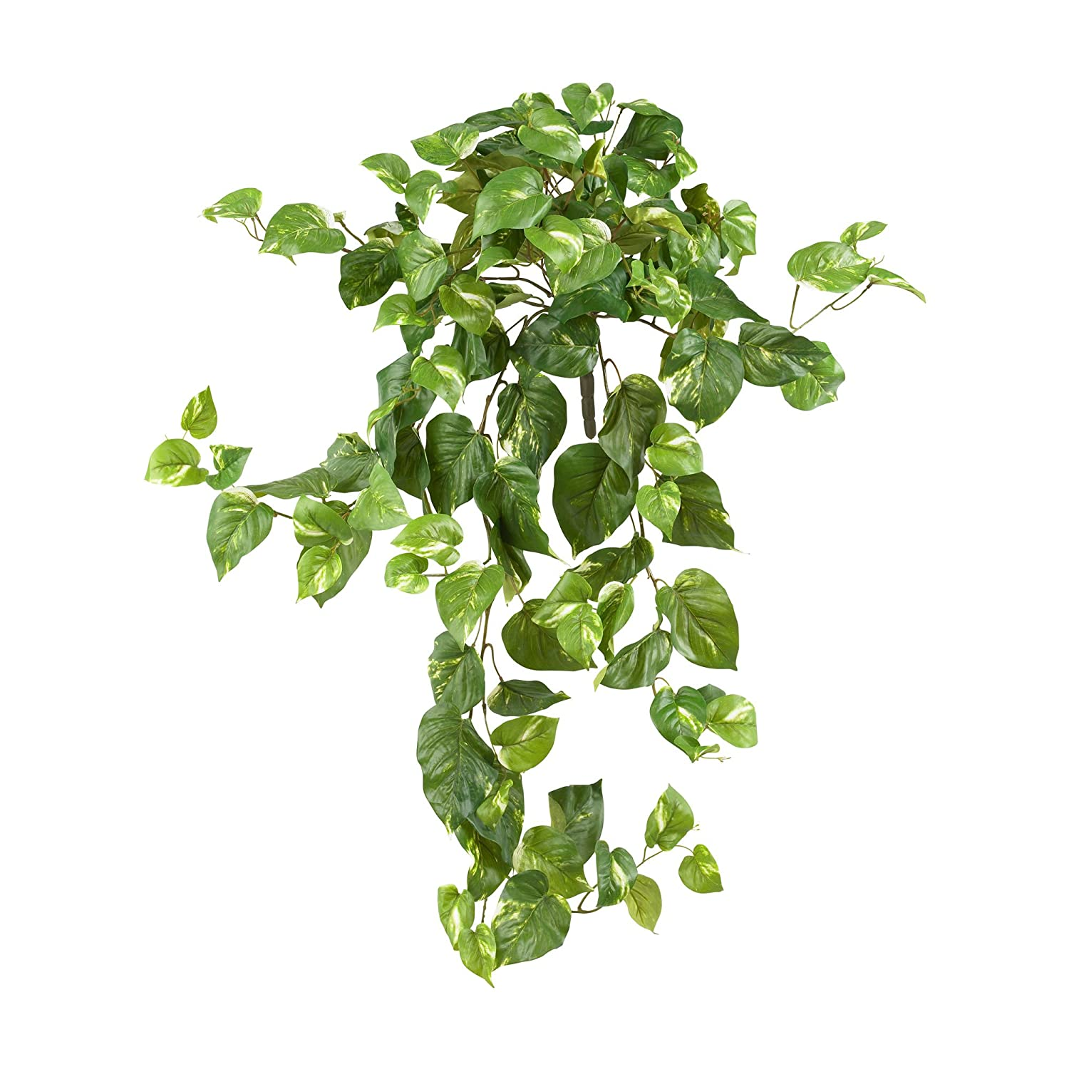 """Nearly Natural 6060-S3 40"""" Pothos Hanging Bush (Set of 3), 3 Piece"""