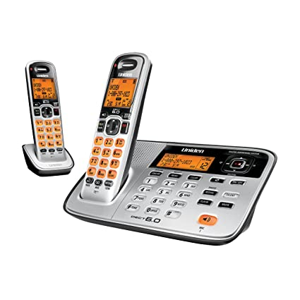 amazon com uniden d1685 2 cordless phone answering system with rh amazon com Uniden 5.8 GHz Manual Owner's Manual Uniden Telephones