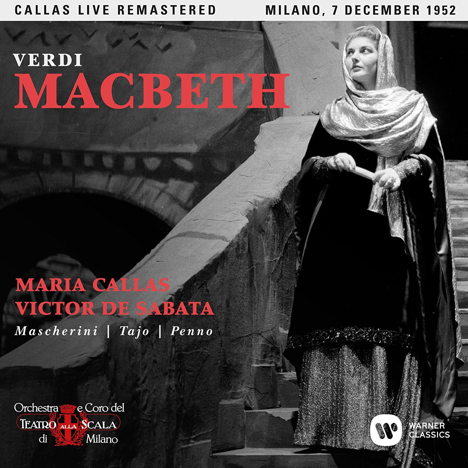 CD : Maria Callas - Verdi: Macbeth (milano 07/ 12/ 1952) (2PC)