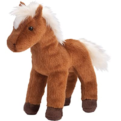 Douglas Mr. Brown Chestnut Horse Plush Stuffed Animal: Toys & Games
