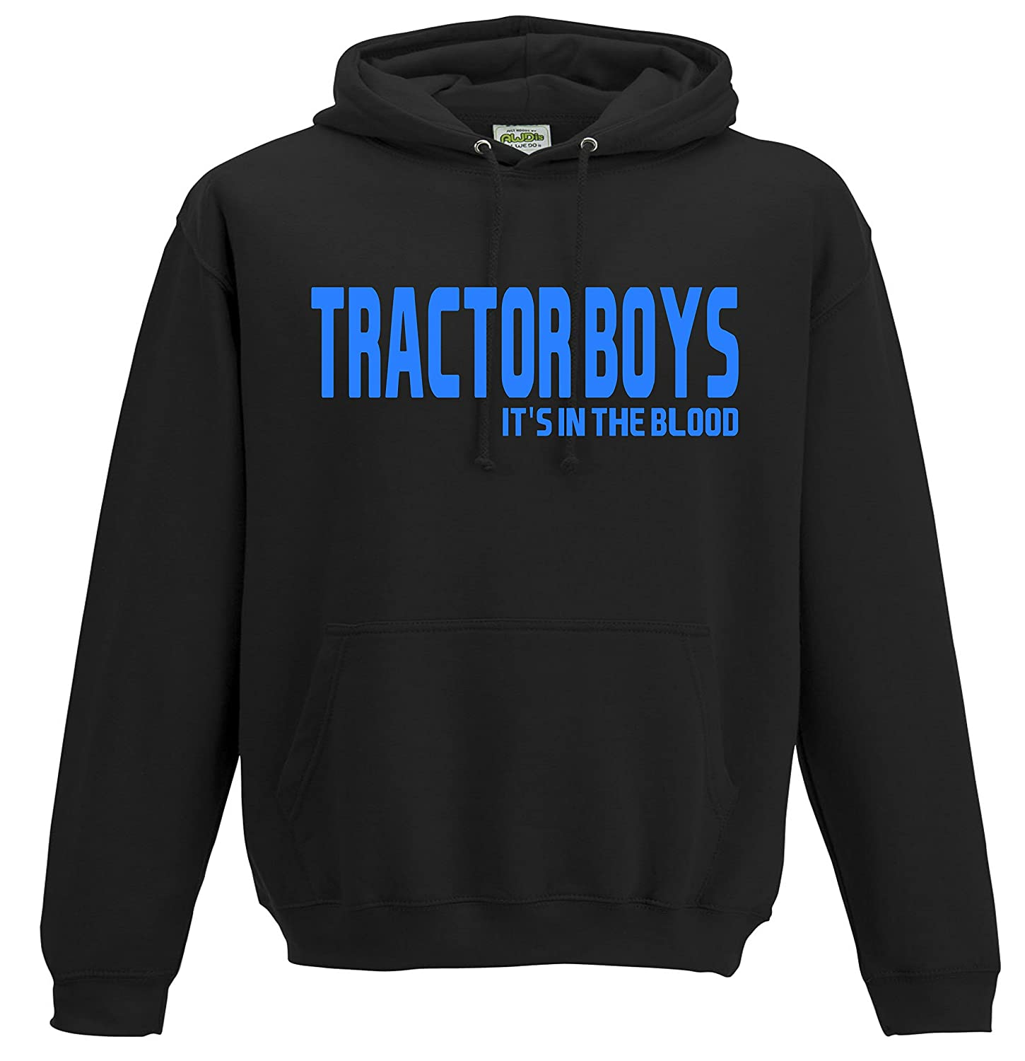 81fdb555395 All About The Print Tractor Boys Ipswich Town Football Gift - Hoodie top  Jumper FC Present JHD110