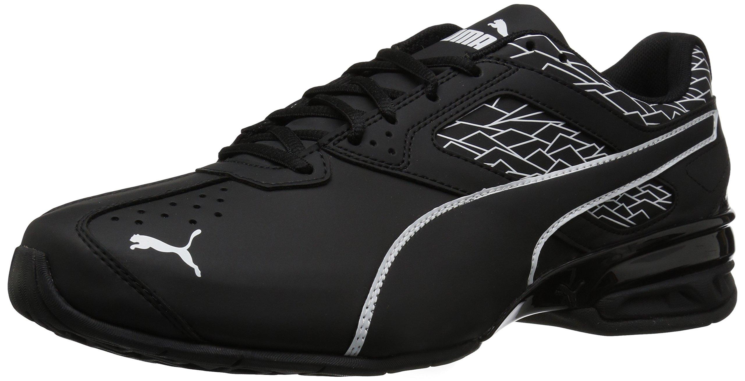 5f83869d8640c PUMA Men's Tazon 6 Fracture FM Sneaker, Black, 10 M US - 18987503 ...
