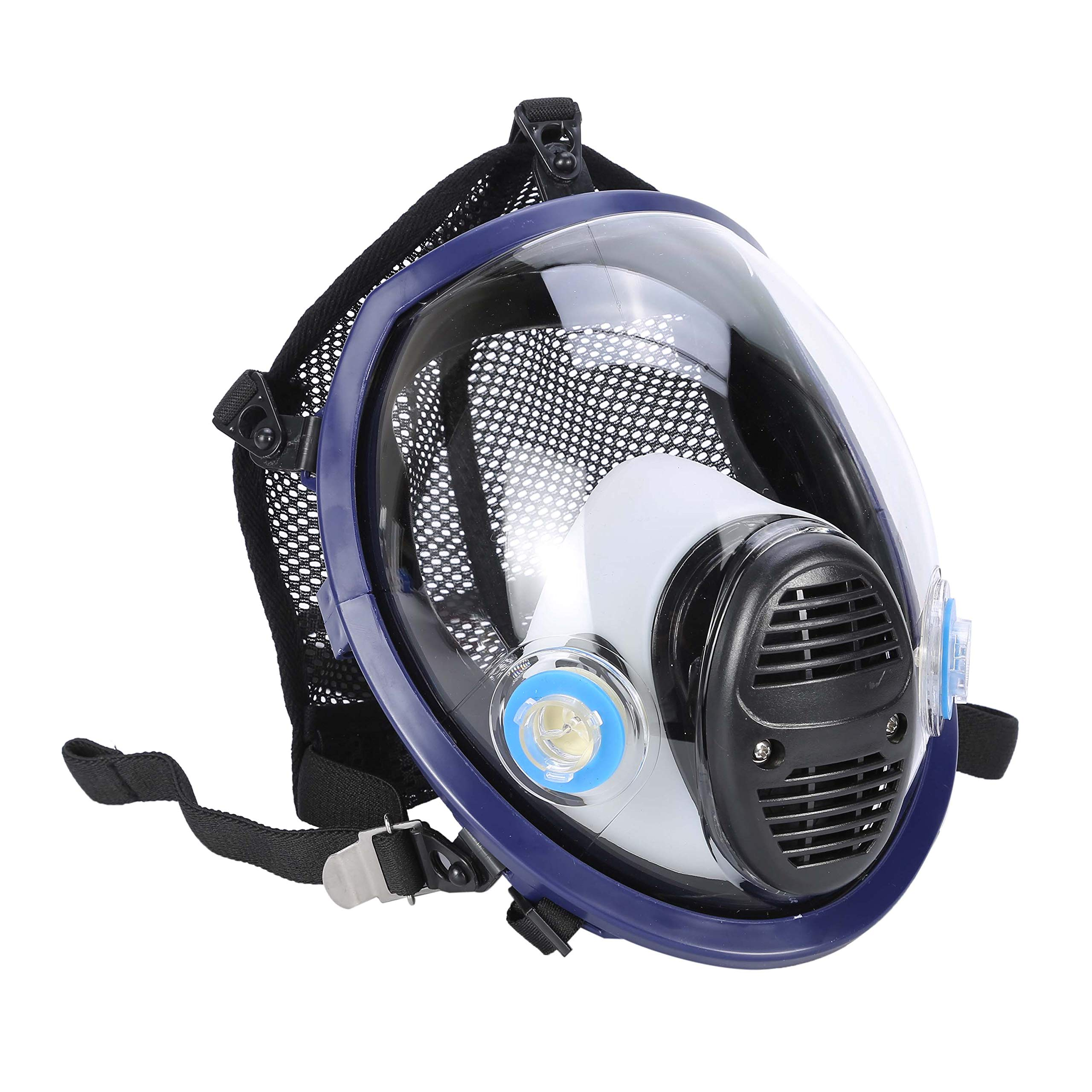Holulo Organic Vapor Full Face Respirator With Visor Protection For Paint, chemicals, polish welding protection by Holulo (Image #3)