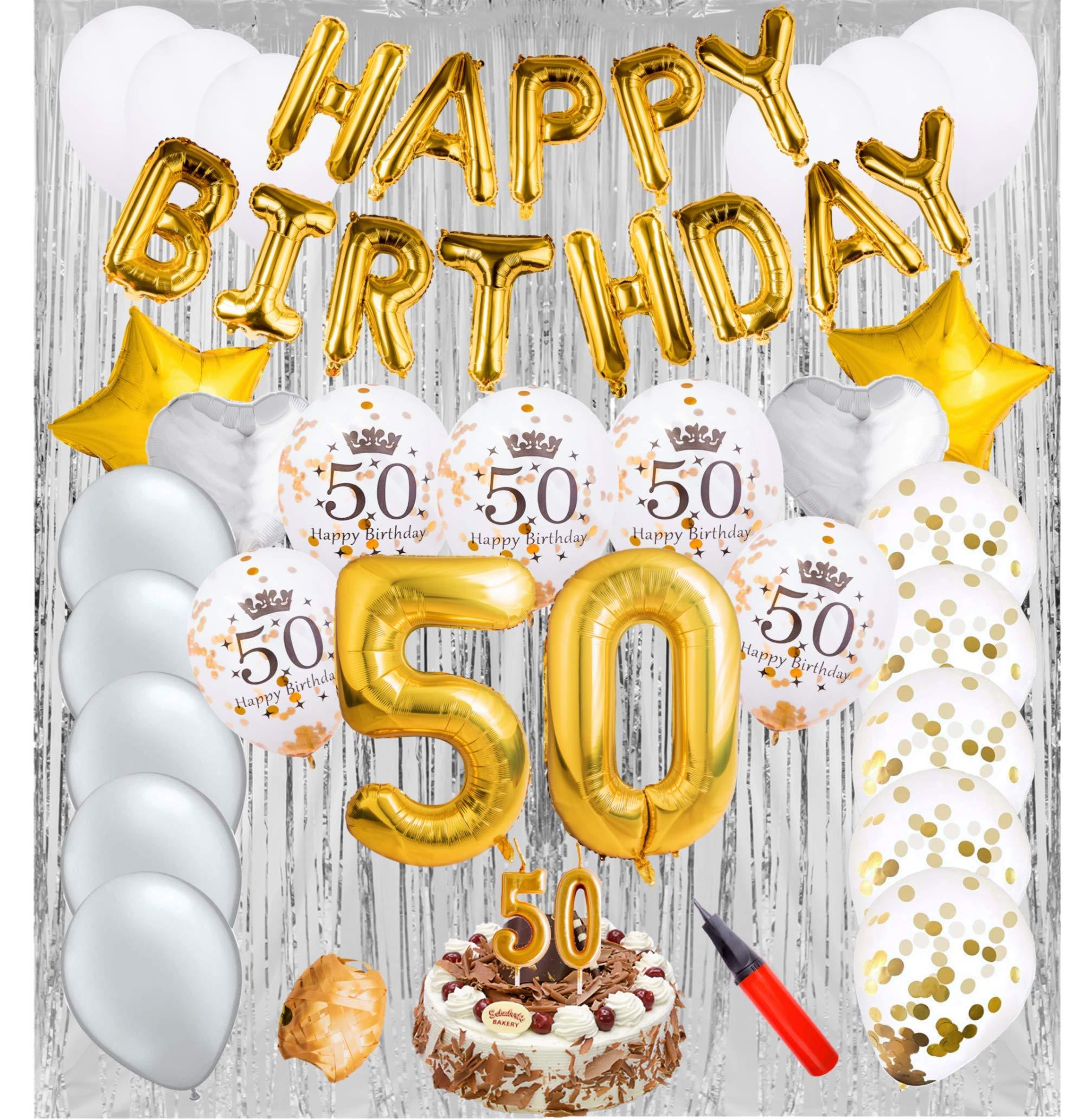50th Birthday Decorations