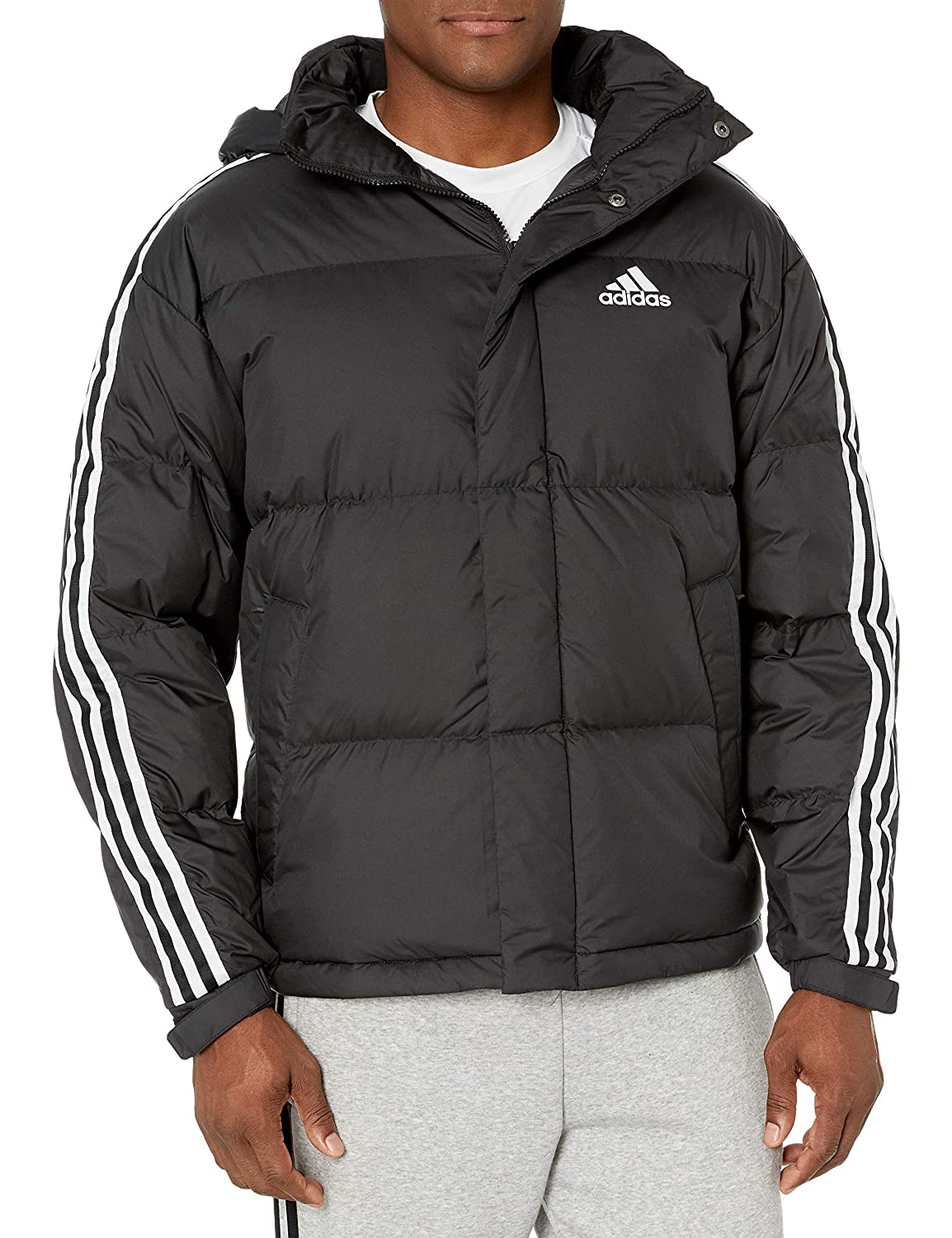 Image of adidas outdoor 3-Stripe Puff Down Jackets & Coats