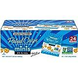 Snack Factory Pretzel Crisps Minis Original Flavor, Snack Packs Individual Sized, 24 Count