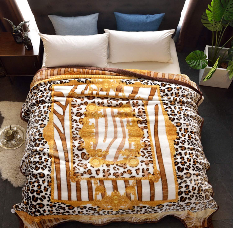 毛布を広げる大人のホームナップ200 * 230cmハンドメイドテレビソフト温かいベッドソファー夏秋冬フェイダリーポリエステルなし  B B07JBY2R2Z