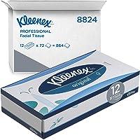 Kleenex original ansiktsservetter i 3 lager, box med 12 förpackningar x 72 ansiktsservetter, mjuka och motståndskraftiga…