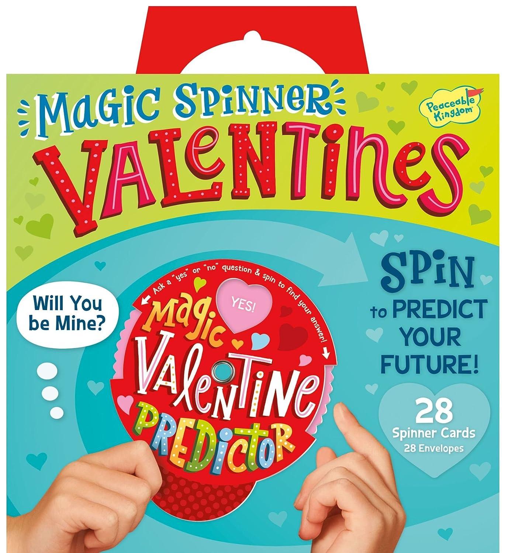 Amazon Peaceable Kingdom Magic Spinner Fortune Teller 28 Card