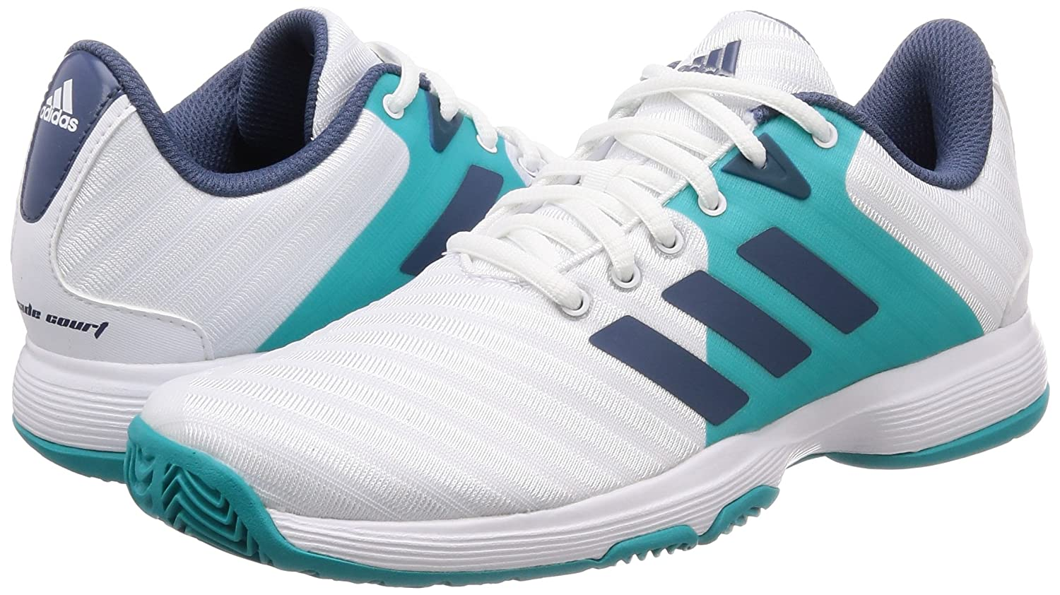 Amazon.com | adidas Barricade Court Womens Tennis Shoe ...
