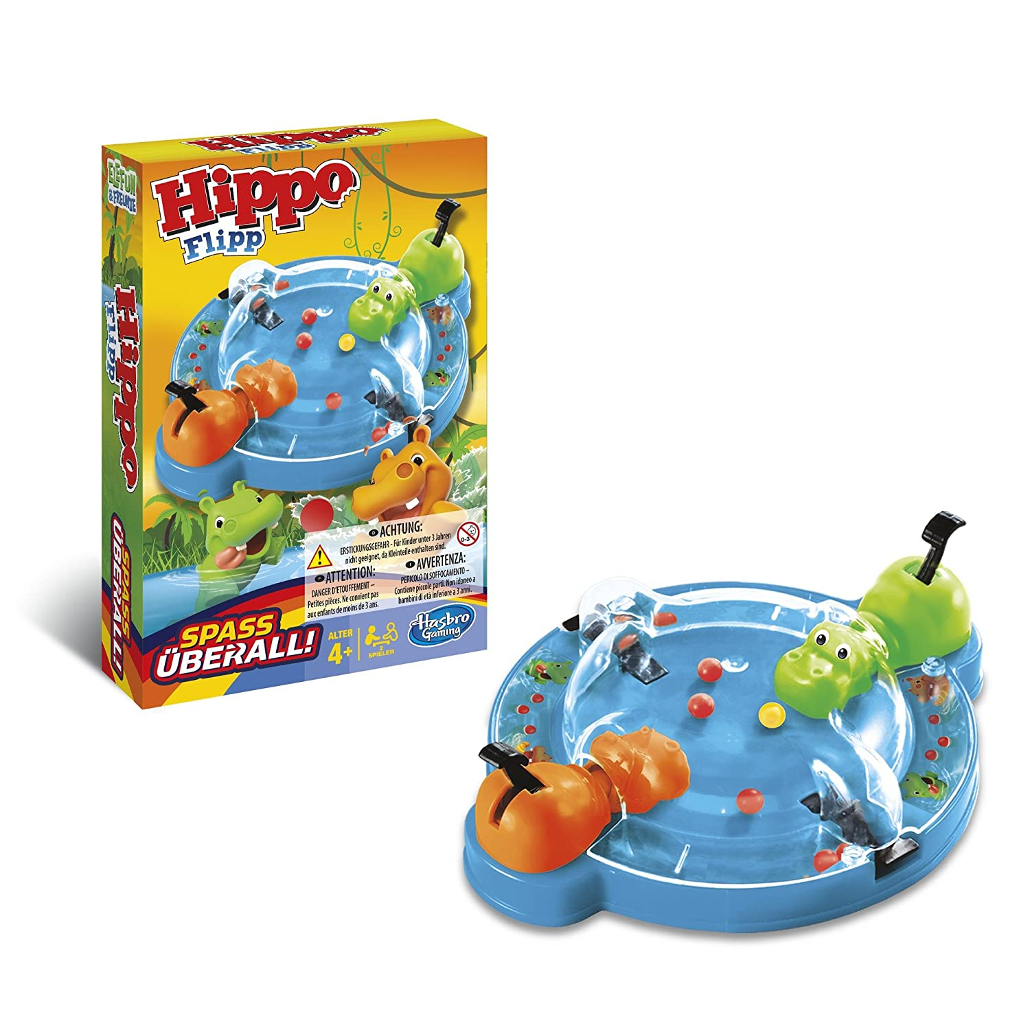 Hasbro b1001103 – Travel Essen Ippo [Parent] Version: Französisch Hasbro European Trading B.V B10011010