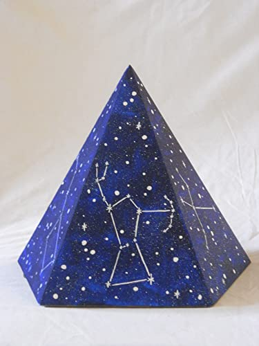amazon com personal pyramid small 5 sided handmade