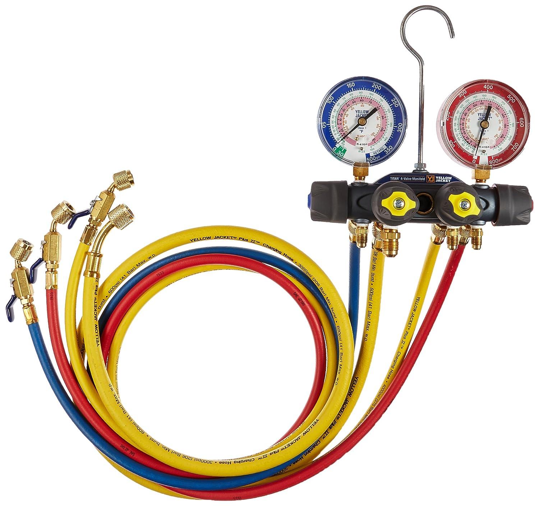 Yellow Jacket 49968 Charging Manifold,