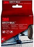"3M Safety-Walk Slip Resistant Tape, Black, 610B-R4X180, 4"" x 15'"