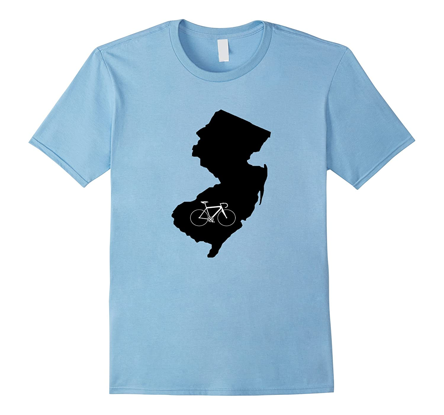 Bicycle New Jersey Shirt, Cyclist Tee, State Road Bike-Art