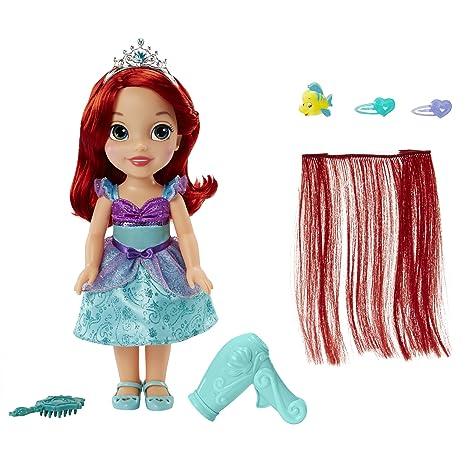 amazon com disney princess style me princess ariel toy toys games