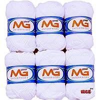M.G Enterprises White Art Craft Wool