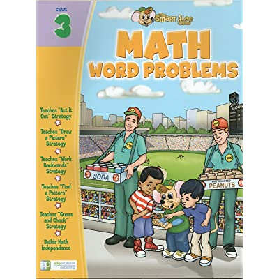 Math Word Problems (Problem Solving): Grade 3 (The Smart Alec Series) 48 Page Workbook: Toys & Games