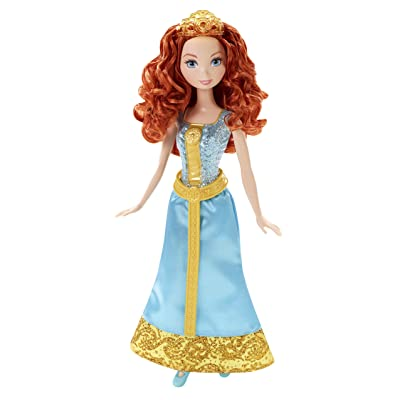 Mattel Disney Sparkle Princess Merida Doll: Toys & Games