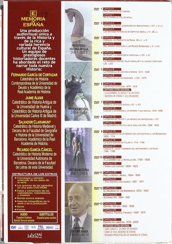 Memoria De España (Colección Completa) [DVD]: Amazon.es: Julián ...