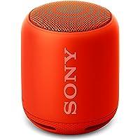 Sony SRS-XB10 Altoparlante Wireless Portatile, Extra Bass, Bluetooth, NFC, Resistente all'Acqua IPX5, Rosso