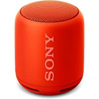 Sony SRS-XB10R- Altavoz inalámbrico portátil (Bluetooth, Extra Bass, NFC, 16h de batería) Color Rojo