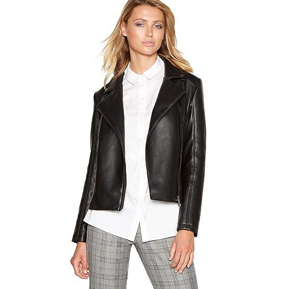 c14d4062054 Principles Womens Black Biker Jacket  Principles  Amazon.co.uk  Clothing