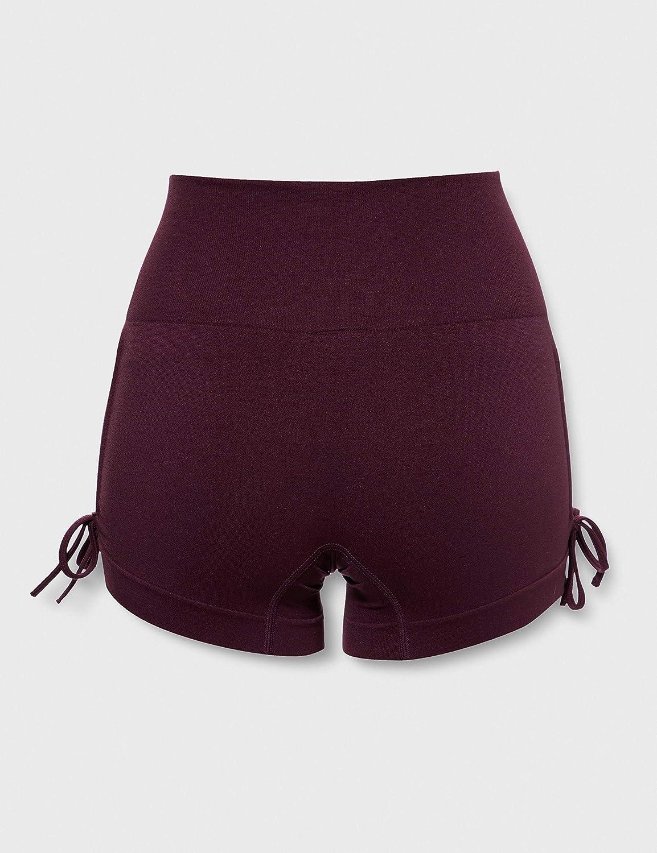 AURIQUE Pantaloncini Yoga Donna Pacco da 2 Marchio