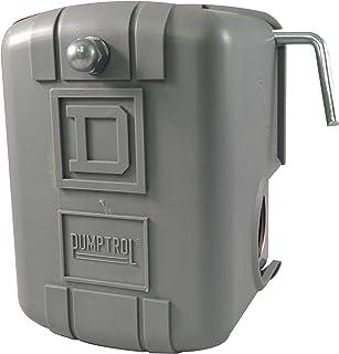 square d by schneider electric fsg2j21cp 30 50 psi pumptrol watersquare d by schneider electric 9013fsg2j24m4 air pump pressure switch, nema 1, 40