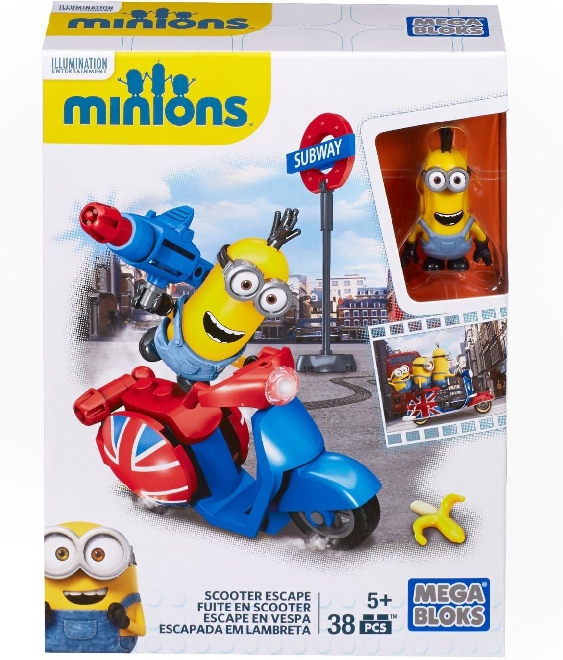 MINIONS - Juego de construcción, escapada con Scooter en Londres (Mattel CNF52): Amazon.es: Juguetes y juegos