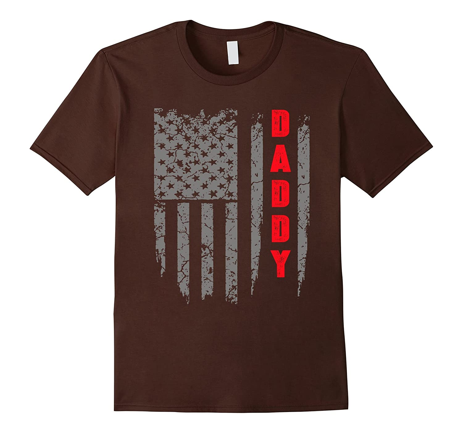 Daddy Flag America T-Shirt-TH