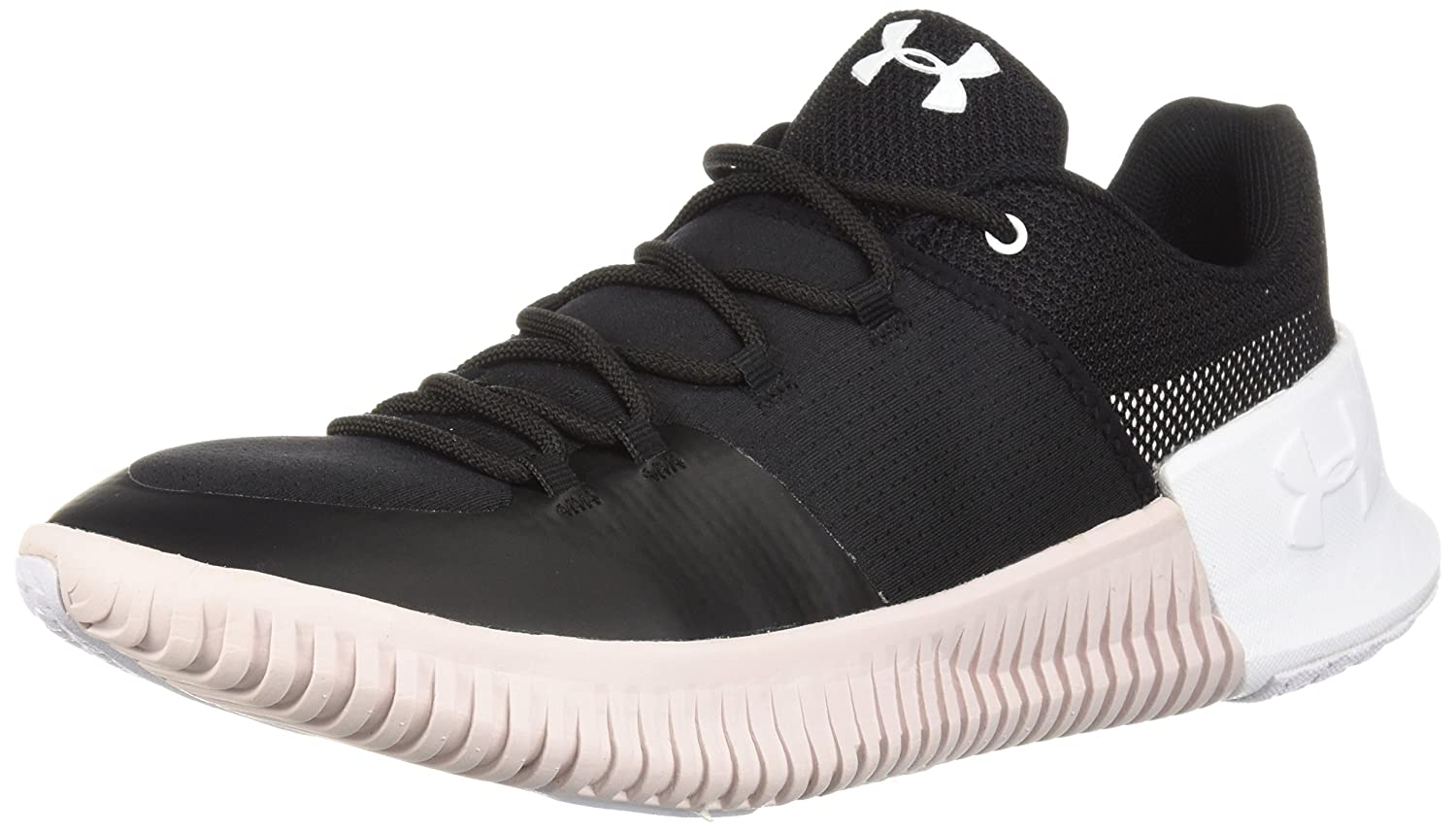Under Armour Women's Ultimate Speed Sneaker B072LNJPRR 7.5 M US|Black (001)/French Gray