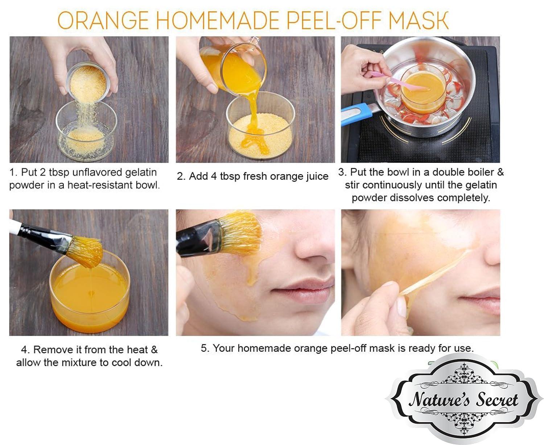 Madison : Gelatin face mask clogged pores