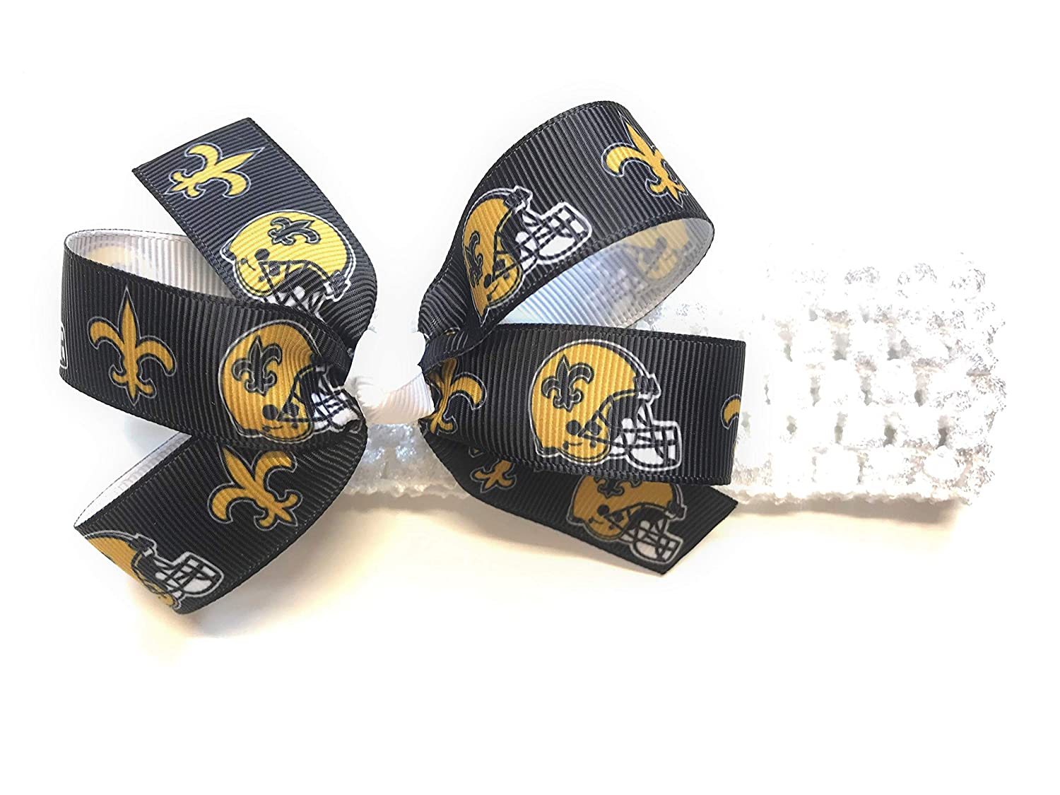 New Orleans Saints Football Baby//Toddler //Girl Headband