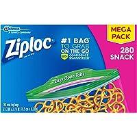 Deals on 280-Count Ziploc Snack Bags