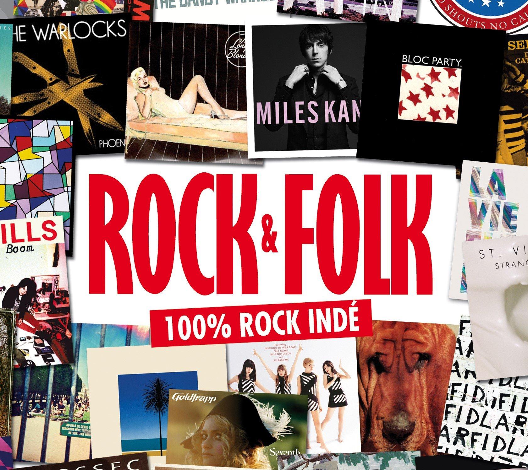 CD : VARIOUS ARTISTS - Coffret Rock & Folk (100% Inde) (Boxed Set, Digipack Packaging, France - Import)