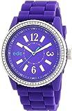 edc by Esprit - A.EE101032003 - Montre Femme - Quartz Analogique - Bracelet Plastique Violet