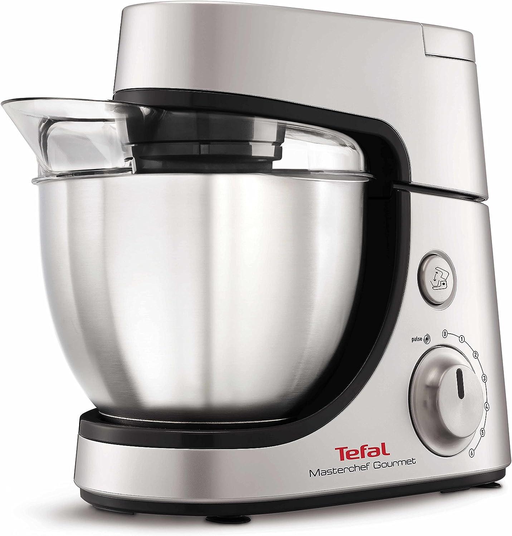 Tefal Masterchef Gourmet - Robot de cocina (4,6 L, Gris, Plata ...