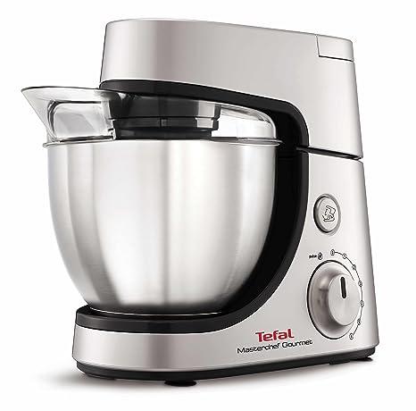 Tefal Masterchef Gourmet - Robot de cocina (4,6 L, Gris, Plata